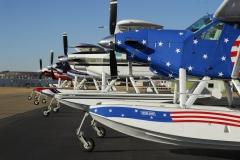 Group of Boss Beavers on Wipline 6100 Floats