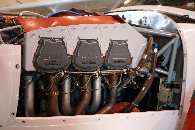 Boss 182 Lycoming IO-580 Engine
