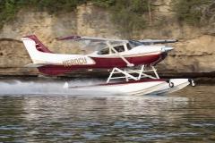 Boss 182 on Wipline 3000 Floats