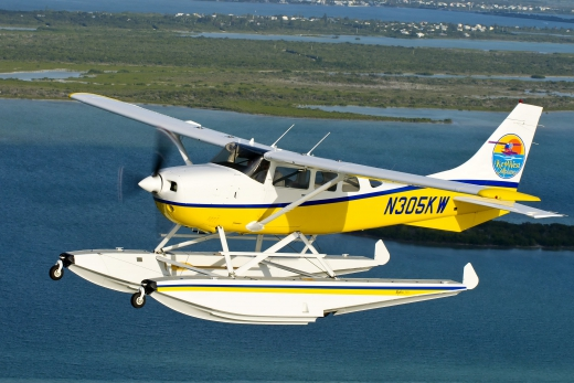 Cessna 206 with an IO-550 and Wipline 3000 Floats