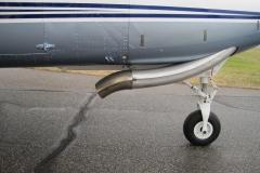 Caravan Exhaust Deflector