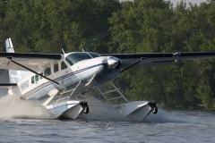 Cessna Caravan on Wipline 8750 Floats