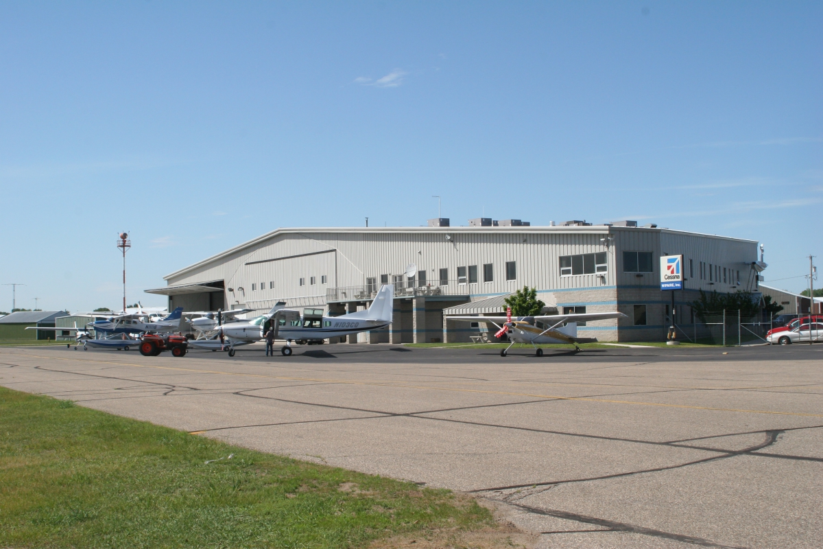"Wipaire's ""Hangar 1"" contains our offices, primary maintenance hangar and an R&D hangar."