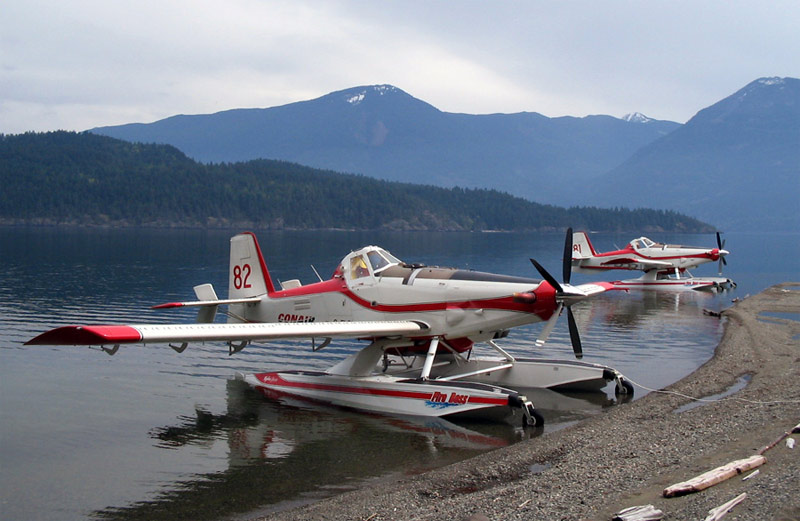 Fire Boss Aircraft Ready to Respond