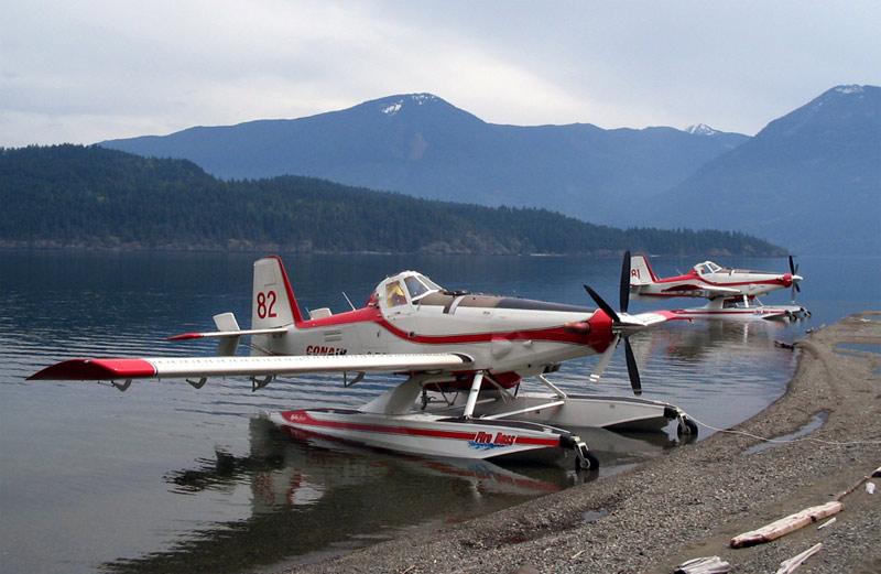 Fire Boss Aircraft Ready to Respond