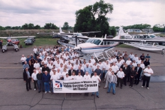 100th Caravan on Floats Wipaire Employee Picture May 16 2000