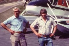 Ben and Bob Wiplinger with Nomad