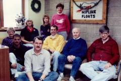 Wipaire Office Crew 1990