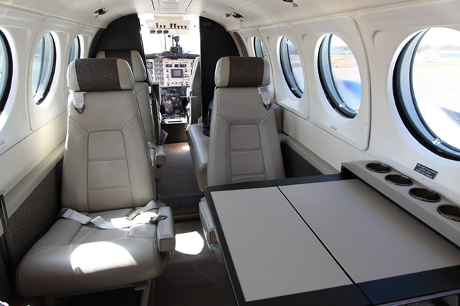 King-Air-200-Interior-1