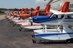 Group of Kodiaks on Wipline 7000 Floats
