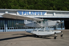 Pilatus Porter on Wipline 6100 Floats