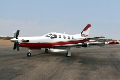 Socata TBM paint by Wipaire