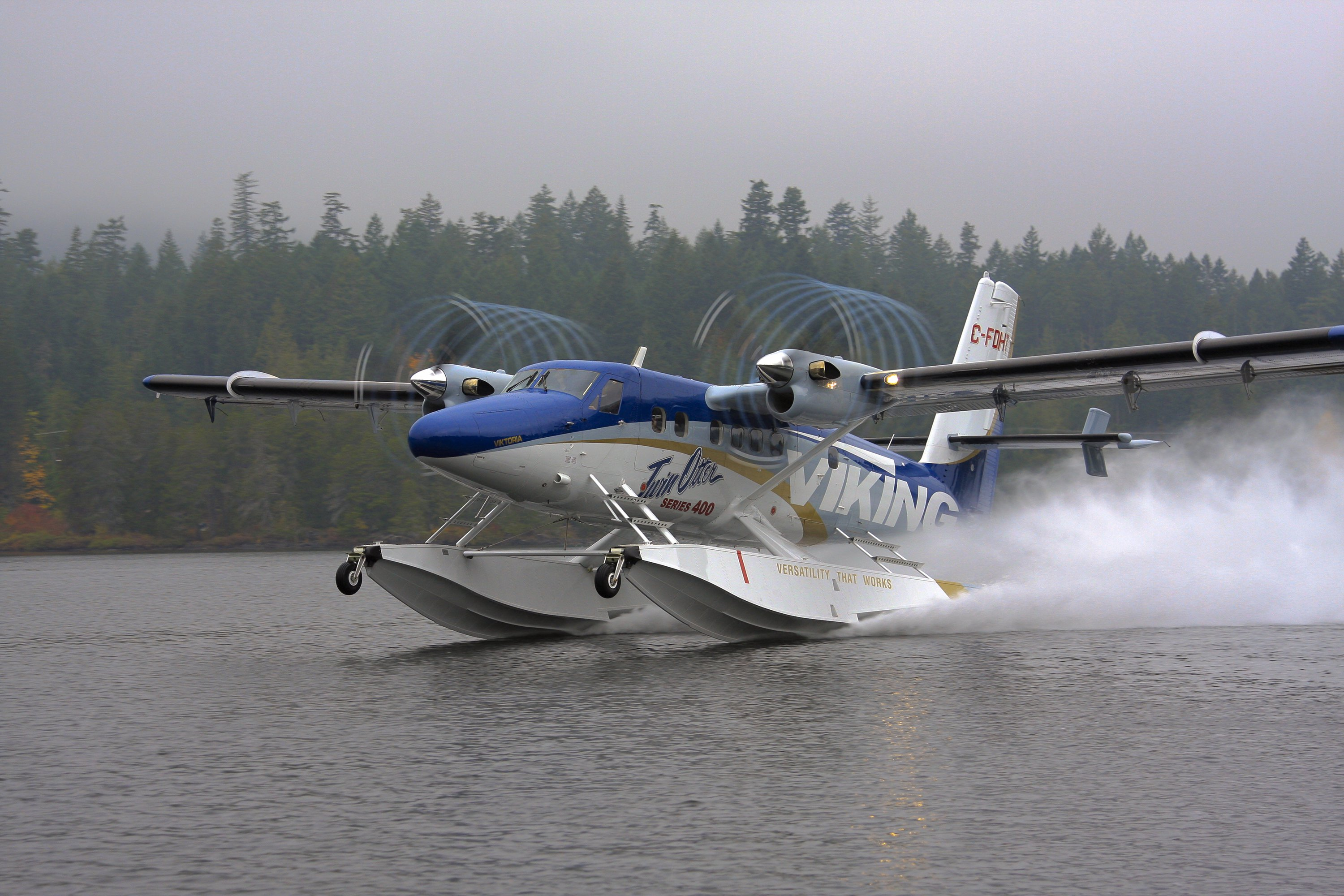 Viking Twin Otter on Wipline 13000 Floats