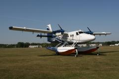 De Havilland Twin Otter on Wipline 13000 Floats With Paint by Wipaire