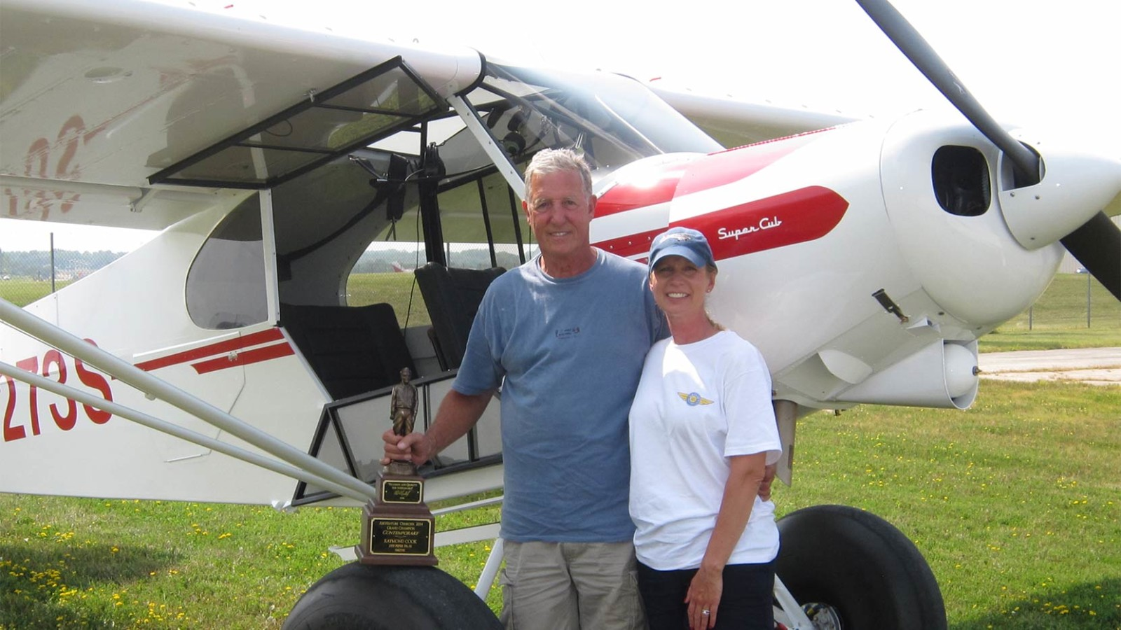 Years in the Making: Ray Cook's Grand Champion Super Cub : Wipaire, Inc