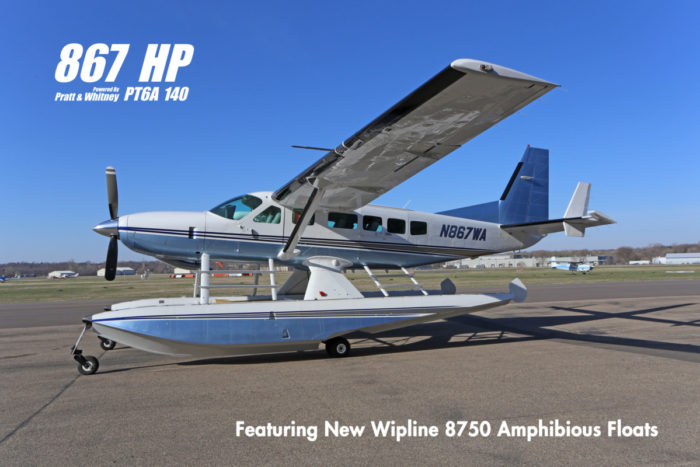 SOLD – 2002 Cessna Caravan Amphibious 867 HP Pratt & Whitney PT6A
