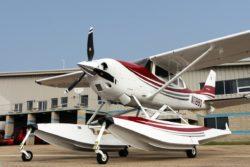 Cessna T206H with a Hartzell Trailblazer Propeller