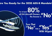 Are you ready for the 2020 ADS-B Mandate?