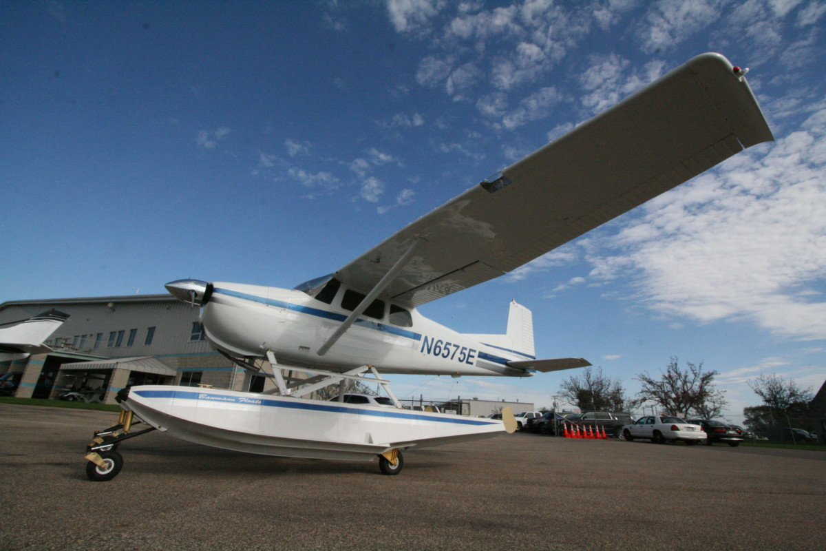 SOLD 1959 Cessna 175 Award Winning Amphibious | Wipaire, Inc