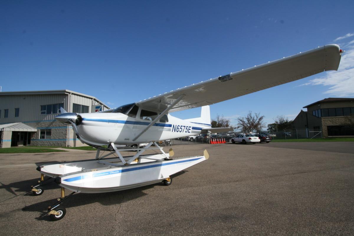 Sold 1959 Cessna 175 Award Winning Amphibious