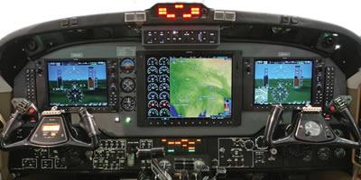 G1000 Retrofit in a King Air