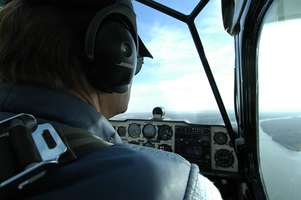Image of a Pilot in a Scout