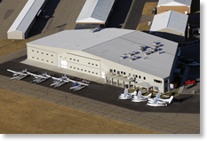 Aerial View of Hanger 1