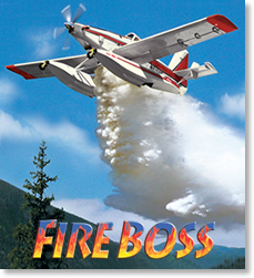 Fire Boss aerial firefighter