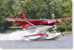 Quest KODIAK on Wipline 7000 Floats