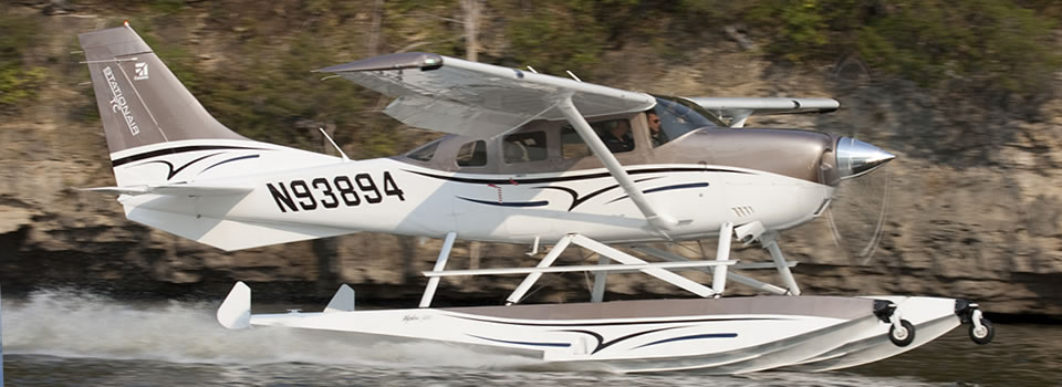 Cessna 206 Floats, Mods, and Services | Wipaire, Inc