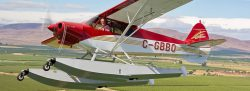 CubCrafters Top Cub on Wipline 2100 Floats