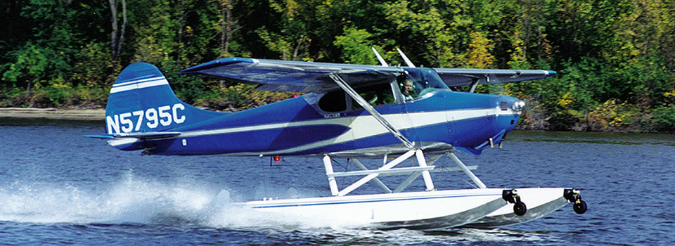 Cessna 170 Floats and Services | Wipaire, Inc