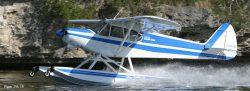 Piper Cub on Wipline 2100 Floats