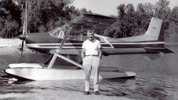 Ben Wiplinger and his Skywagon