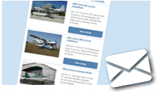 Sign Up for Aircraft Update Emails