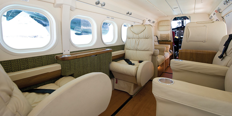 Twin Otter Executive Interior is Built for Comfort
