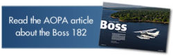 Read the AOPA article about the Boss 182