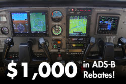 Get ADS-B Compliant & Save! Claim Up To $1000 in rebates for a limited time.
