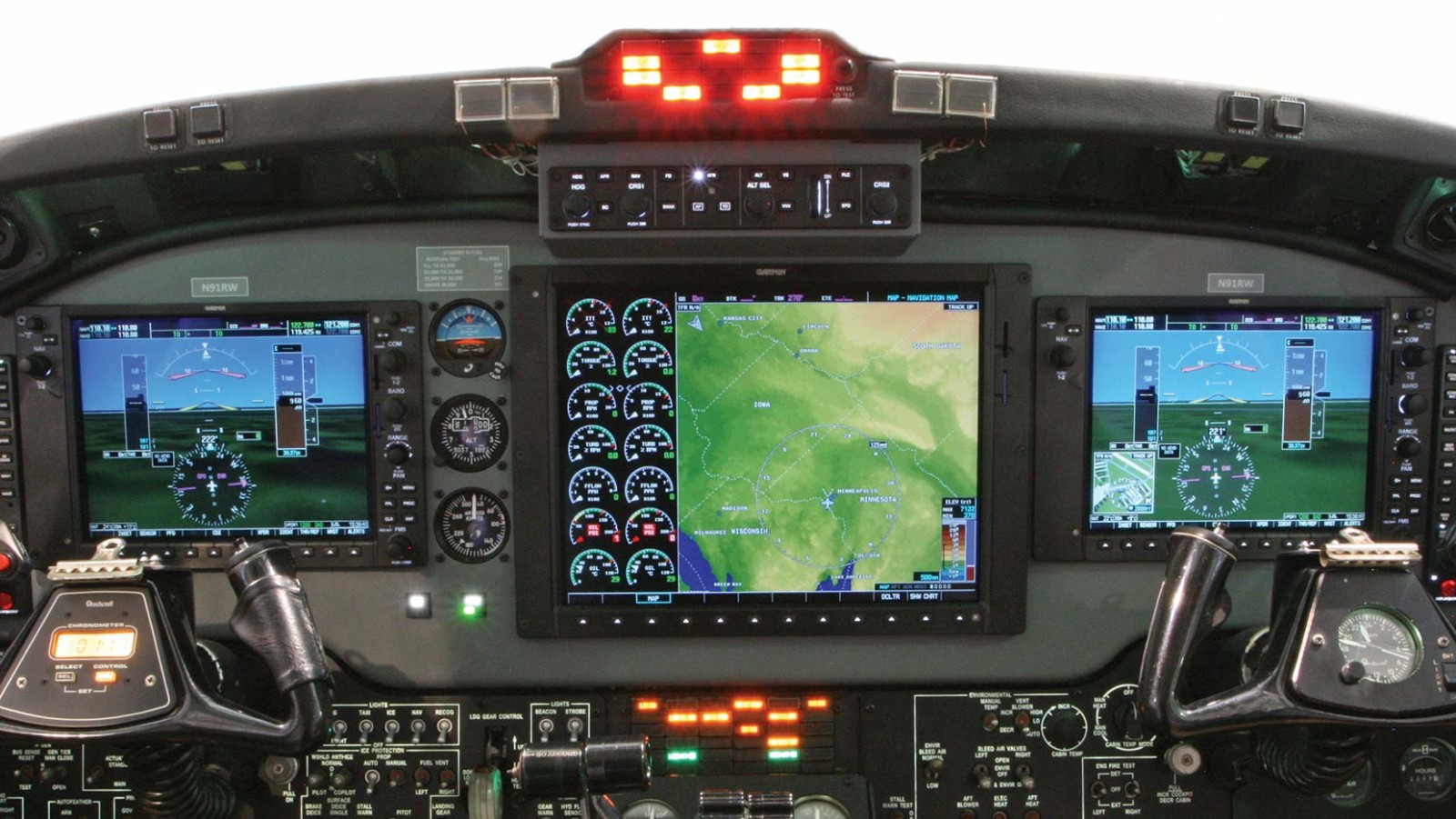 Garmin G1000 Transformation In King Air   Wipaire  Inc