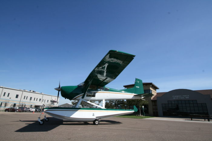 Sold 1980 Cessna A185f Amphibian