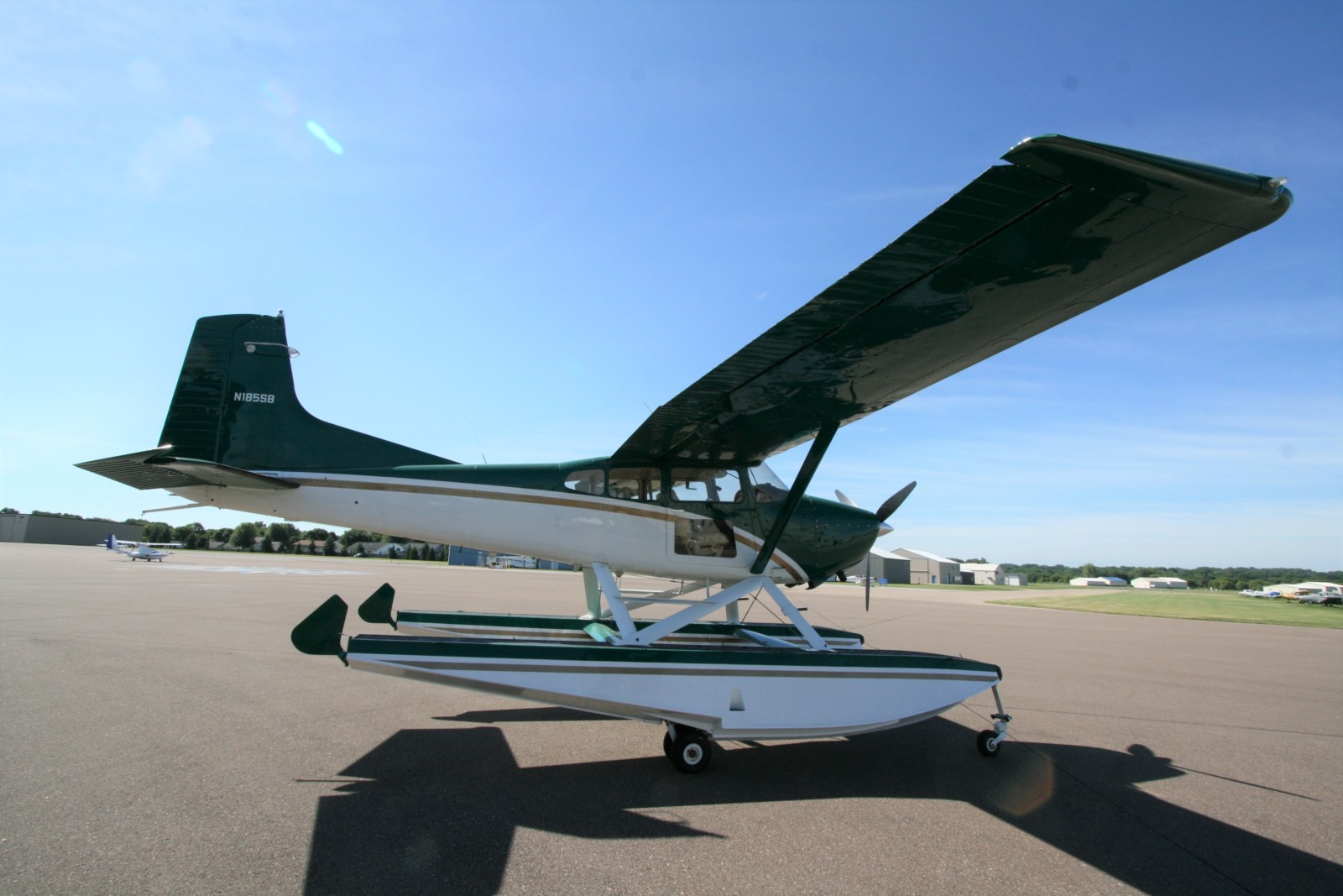 SOLD 1980 Cessna A185F Amphibian | Wipaire, Inc