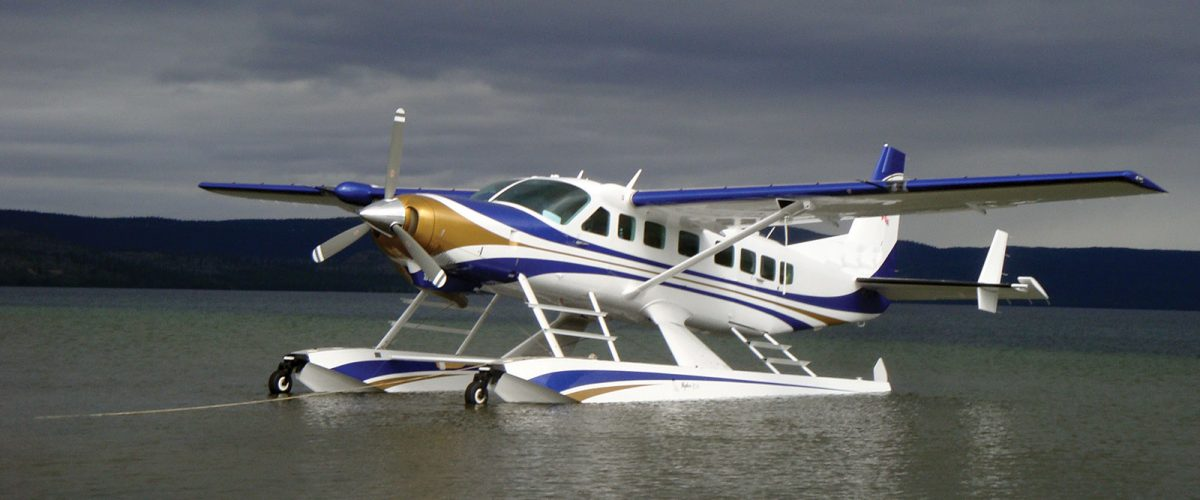 Cessna Grand Caravan with Paint by Wipaire and Wipline 8750 floats