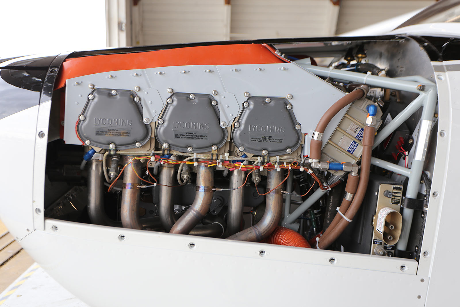 Boss 182™ - Lycoming IO-580 Engine Conversion by Wipaire | Wipaire, Inc